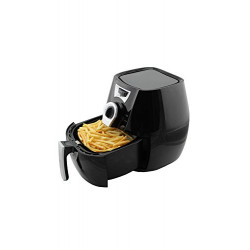 Skyline VT-5115 Plastic Air Fryer (2.2L, Black)