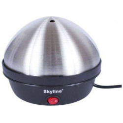 Skyline Egg Boiler VTL 6161 Egg Cooker (Silver, Black, 7 Eggs)