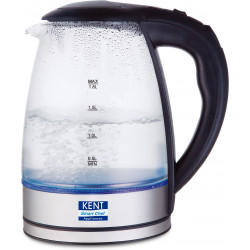 Kent 16052 Electric Kettle 1.8 Litre Glass Kettle