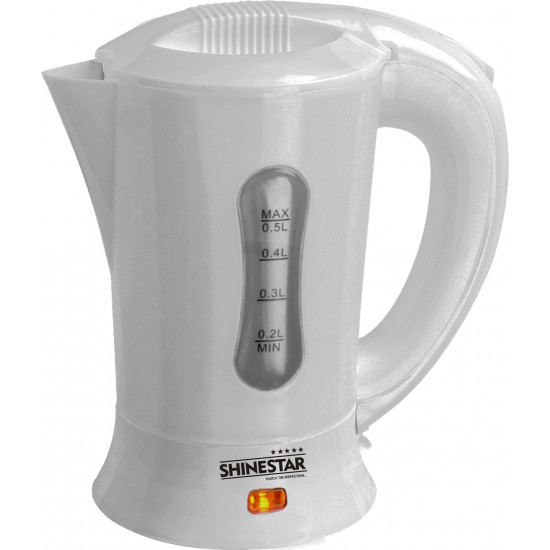 Shinestar Electric Kettle SS004  (0.5Litres) 1000w Travel Abs Body