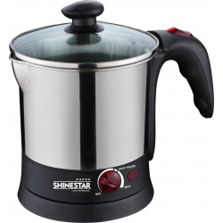 Shinestar Electric Multi Kettle SS936  (1.7Litres) 1500w Stainless Steel (Glass Lid)