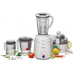 Sujata Multimix 900 Juicer Mixer Grinder (White, 3 Jars)