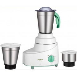Philips HL 1606/03 500 Mixer Grinder (White, 3 Jars)