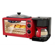 Skyline Breakfast Maker 3 in 1 VTL5527 (Oven + Grill Pan + Coffee Maker)