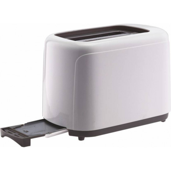 Borosil BT0 750W PW11 Pop Up Toaster 2 Slice (White)
