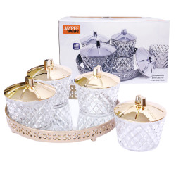 Jaypee Serving Tray Luxe (Dry Fruit Multipurpose Candy Box)