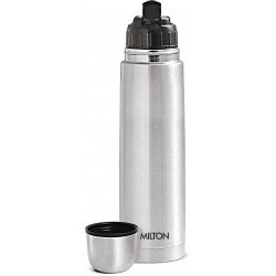 Milton 1000 ml Flip Lid Flask Thermosteel bottle Stainless Steel Bottle