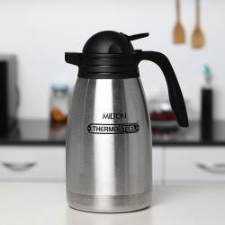 Milton 1000ml Carafe Flask Thermosteel Stainless Steel Kettle