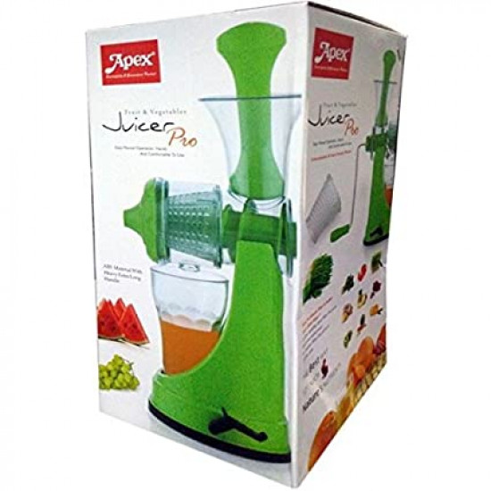 Apex Plastic Hand Juicer for Fruit and Vegetable